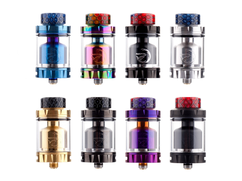 Kit clearomiseur Rebirth RTA d'Hellvape
