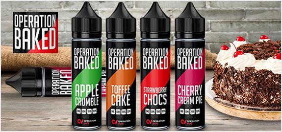 Operation Baked Shake and Vape Liquid