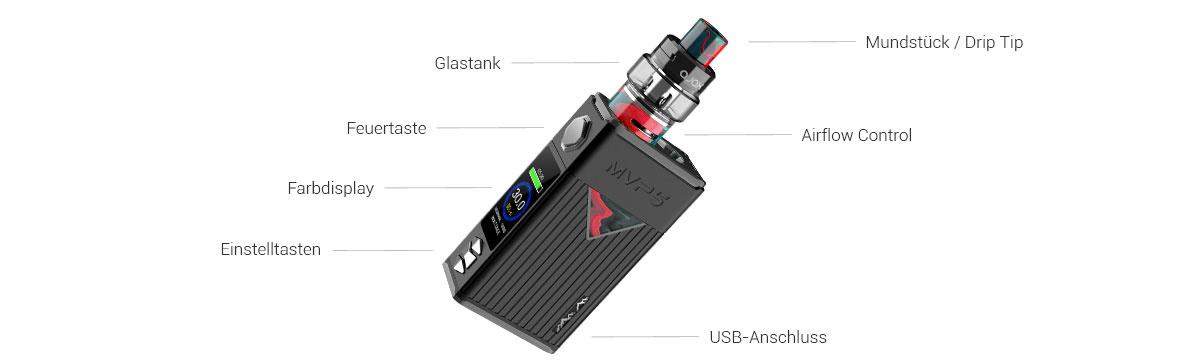 Innokin MVP5 E-Zigarette