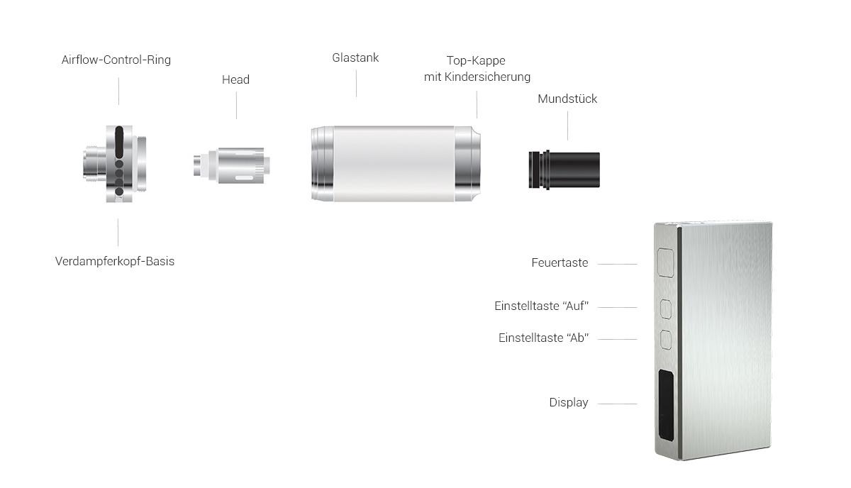 SC Basal E-Zigaretten Set
