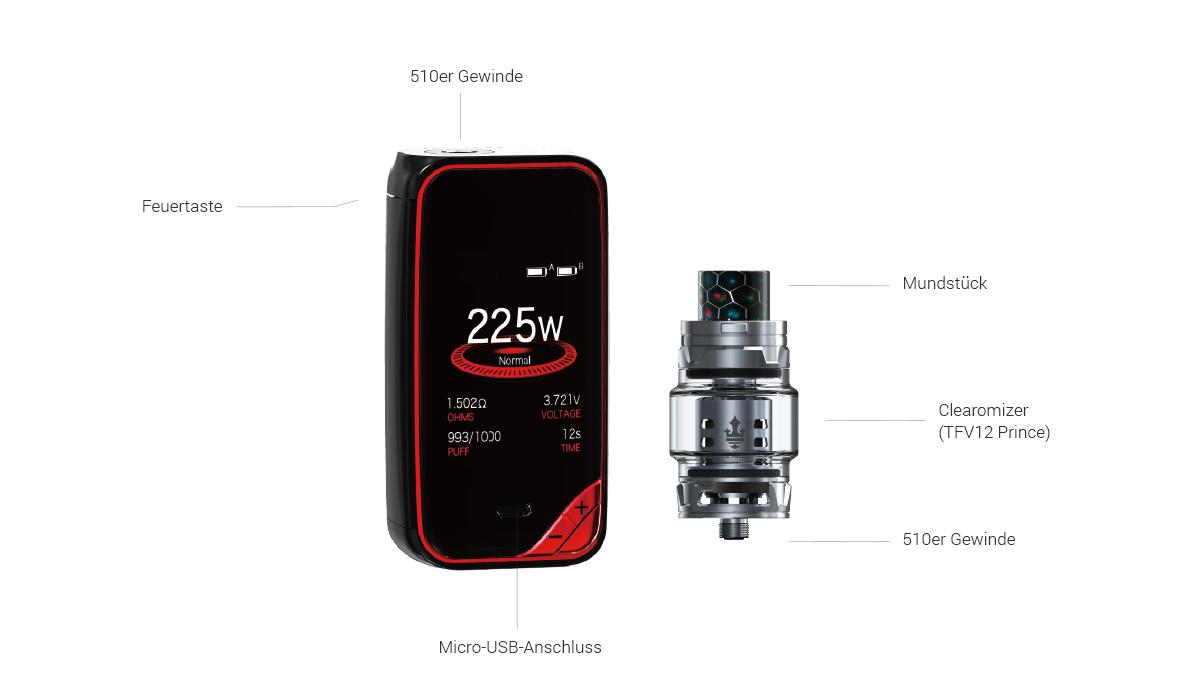 Smok X-Priv E-Zigaretten Set
