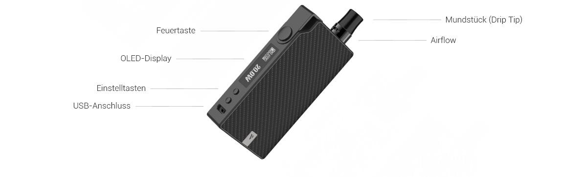 Vaporesso Degree E-Zigaretten Set
