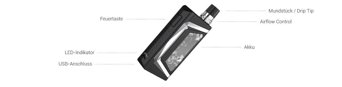 Wismec Preva Pod E-Zigaretten Set