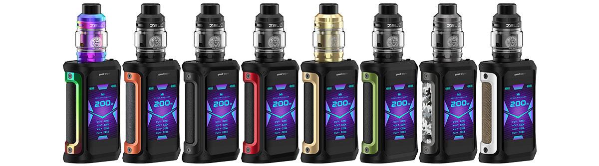 GeekVape Aegis X mit Zeus Subohm E-Zigaretten Set