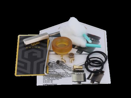 Advken Artha V2 RDA Clearomizer Set