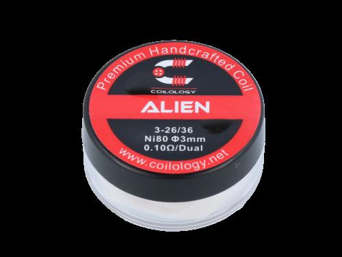 Handmade Alien Ni80 0,11 Ohm Coils de Coilology (2 pièces par paquets)