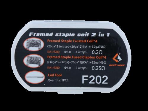 GeekVape Framed Staple Clapton Coil 2 in 1 Set