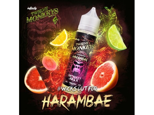 Twelve Monkeys - Harambae - 50ml - 0mg/ml