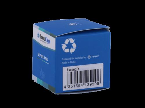 InnoCigs Exceed X 1,8 ml Glastank