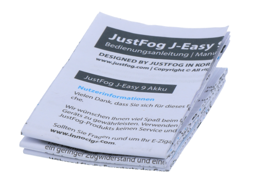 JustFog J-Easy9 Akku 900 mAh