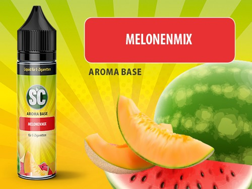 Vape Base - Melonenmix 0mg/ml 50ml