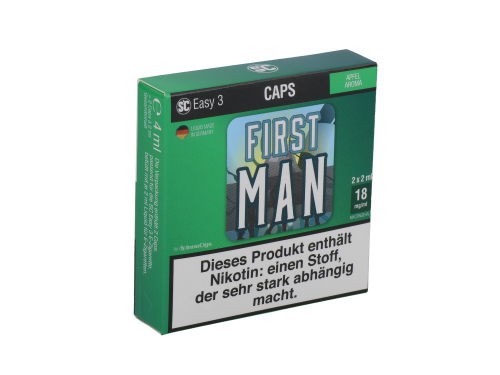 SC Easy 3 Caps First Man Apfel (2 Stück pro Packung)