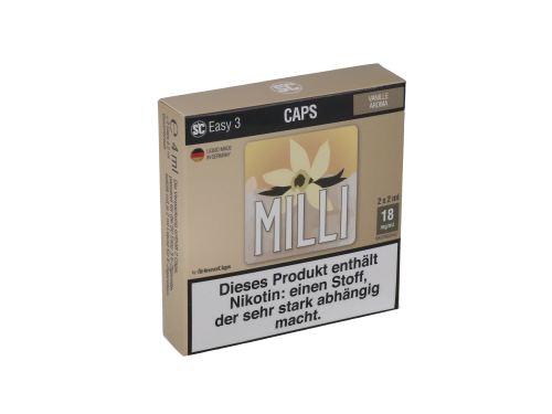 SC Easy 3 Caps Milli Vanille (2 Stück pro Packung)