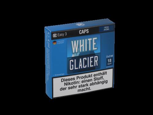 SC Easy 3 Caps White Glacier Fresh (2 Stück pro Packung)