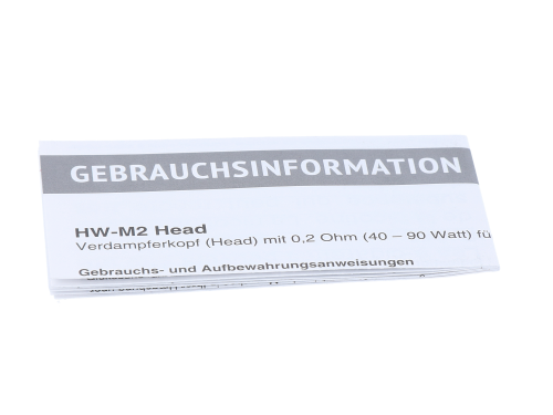 SC HW-M2 0,2 Ohm Heads (5 Stück pro Packung)