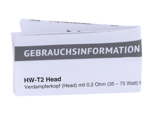 SC HW-T2 0,2 Ohm Head (3 Stück pro Packung)