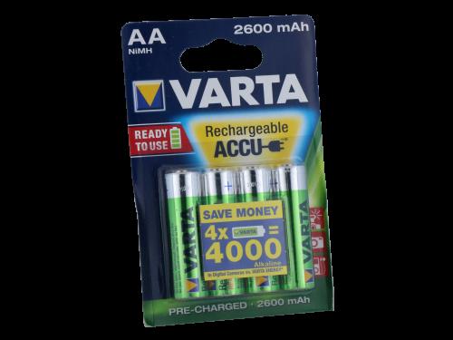 Varta Mignon AA R2U B4 2600mAh (4 Stück pro Packung)