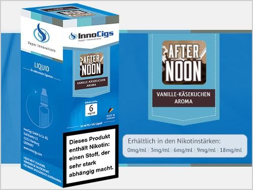 Afternoon Vanille-Käsekuchen Aroma - Liquid für E-Zigaretten