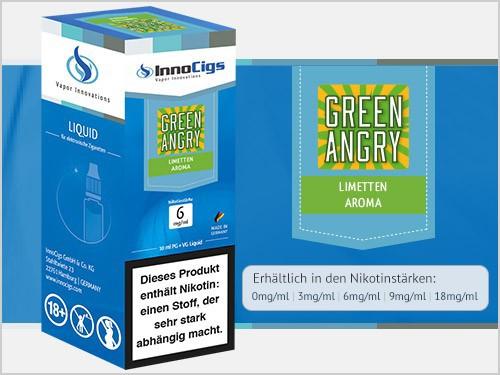 Green Angry Limetten Aroma - Liquid für E-Zigaretten