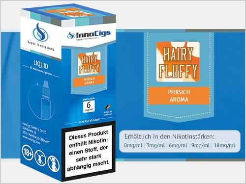 Hairy Fluffy Pfirsich Aroma - Liquid für E-Zigaretten