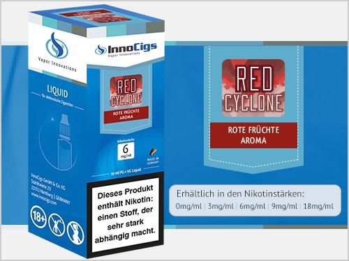 Red Cyclone Rote Früchte Aroma - Liquid für E-Zigaretten