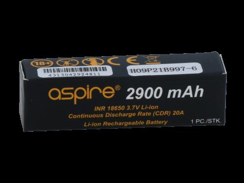 Aspire INR 18650er 2900 mAh