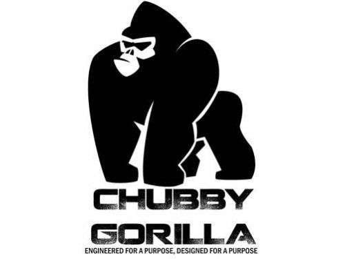 Chubby Gorilla 120ML V3 PET Unicorn Leerflasche