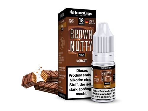 Brown Nutty Nougat Aroma - Liquid für E-Zigaretten