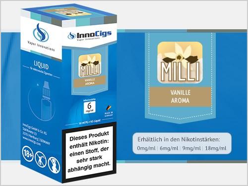 Milli Vanille Aroma - Liquid für E-Zigaretten