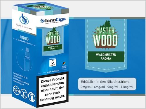 Master Wood Waldmeister Aroma - Liquid für E-Zigaretten