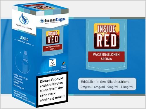 Inside Red Wassermelonen Aroma - Liquid für E-Zigaretten