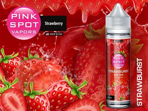 Pink Spot - Strawburst 50ml - 0mg/ml