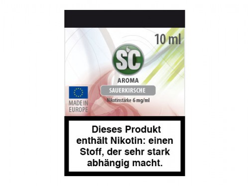Sauerkirsche E-Zigaretten Liquid