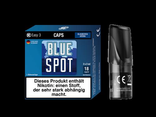 SC Easy 3 Caps Blue Spot Blaubeeren (2 Stück pro Packung)