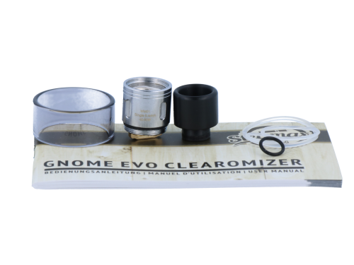 Steamax GNOME Clearomizer Set