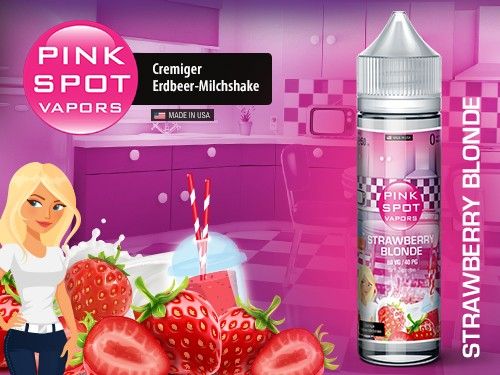Pink Spot - Strawberry Blonde 50ml - 0mg/ml