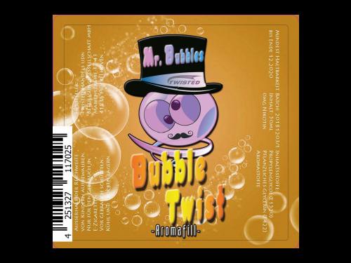 Twisted - Mr. Bubbles - Bubble Twist 0mg/ml 50ml