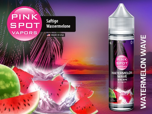 Watermelon Wave 50ml-0mg/ml de Pink Spot