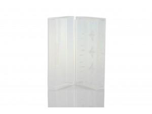 Akku Aufbewahrungsbox transparent