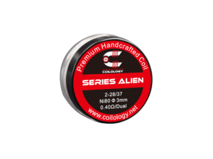 Coilology Handmade Series Alien Ni80 0,4 Ohm (2 Stück pro Packung)