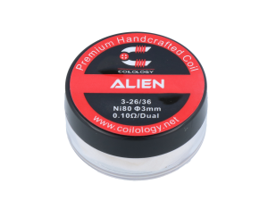 Coilology Handmade Alien Ni80 0,11 Ohm (2 Stück pro Packung)