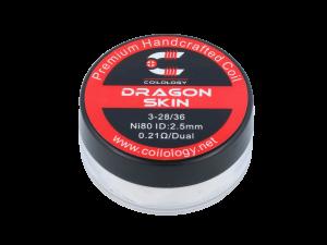 Coilology Handmade Dragon Skin Ni80 0,21 Ohm (2 Stück pro Packung)