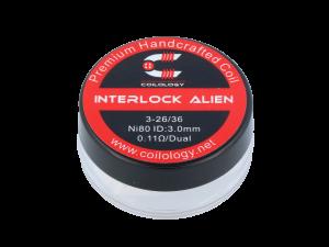 Coilology Handmade Interlock Alien Ni80 0,11 Ohm (2 Stück pro Packung)