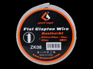 Geekvape Flat Clapton Wickeldraht Kanthal A1