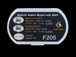 GeekVape Hybrid Alpha Braid Coil 2 in 1 Set