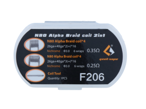 GeekVape Ni80 Alpha Braid Coil 2 in 1 Set