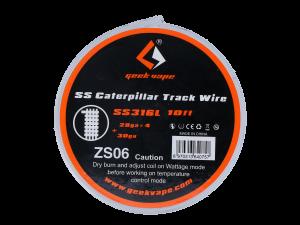 Geekvape SS Caterpillar Track Wickeldraht SS316L