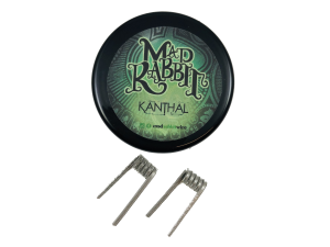 Mad Rabbit Kanthal Alien Coils 0,35 Ohm (2 Stück pro Packung)