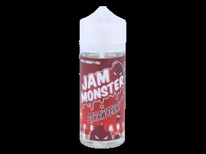 Jam Monster - Strawberry 0mg/ml 100ml