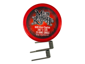 Mad Rabbit Ni80 Alien Clapton Coil (2 Stück pro Packung)